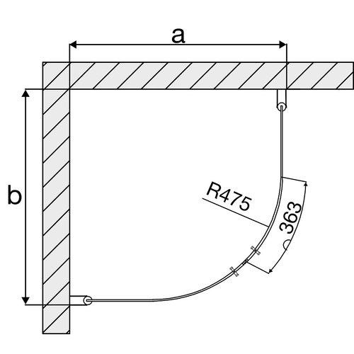 Arrow Round Black Edition (2 meter)