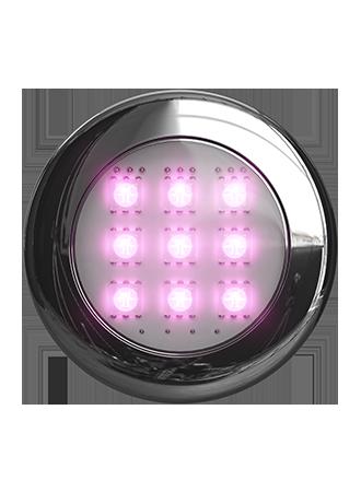 LED-BELYSNING MED LJUSTERAPI RGB