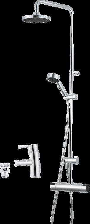 Shower system kit MORA MMIX