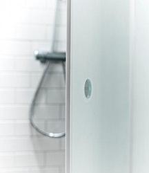 Lusso duschhörna (vikdörr)