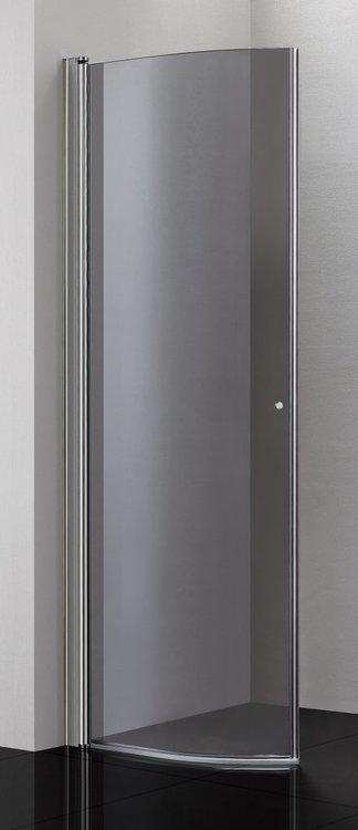 Picto duschhörna (svängd) Klar 90x90