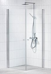 Picto duschhörna (rak) Klar 80x80