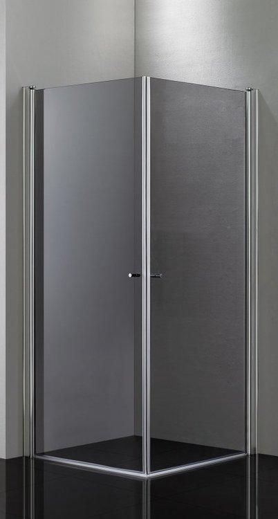 Picto duschhörna (rak) Grå 80x100