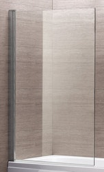 Lusso badkarsvägg Klar 140x80