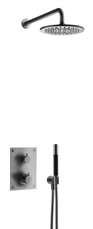 Tapwell BOX7268 ED2 Brushed Black Chrome