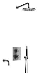 Tapwell BOX7368 ED2 Brushed Black Chrome