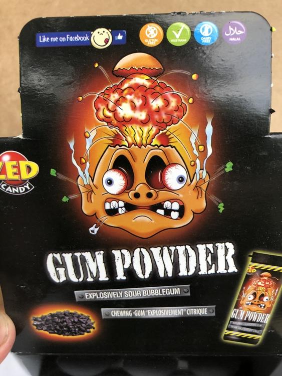 Gun Powder super tuggummi