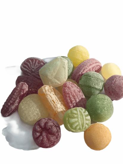 Gammaldags frukt mix karameller