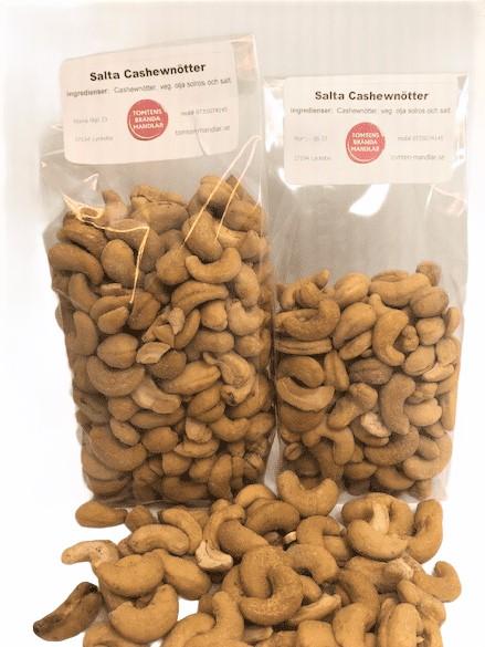Cashewnötter salta 300 gram eller 180 gram. - 300