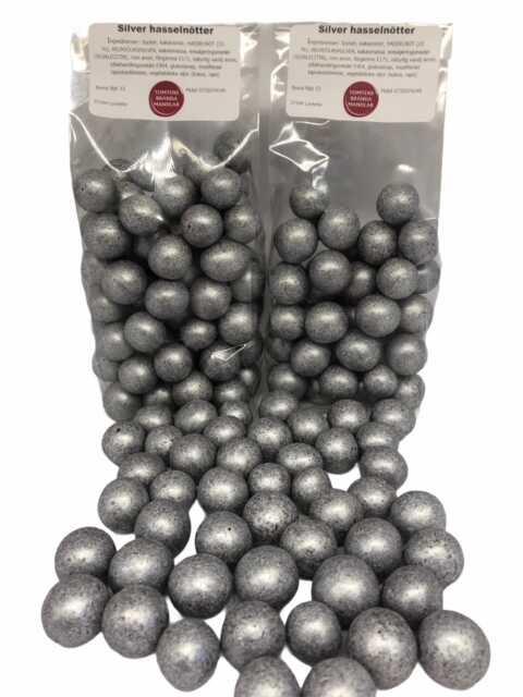 Silver choklad hasselnötter