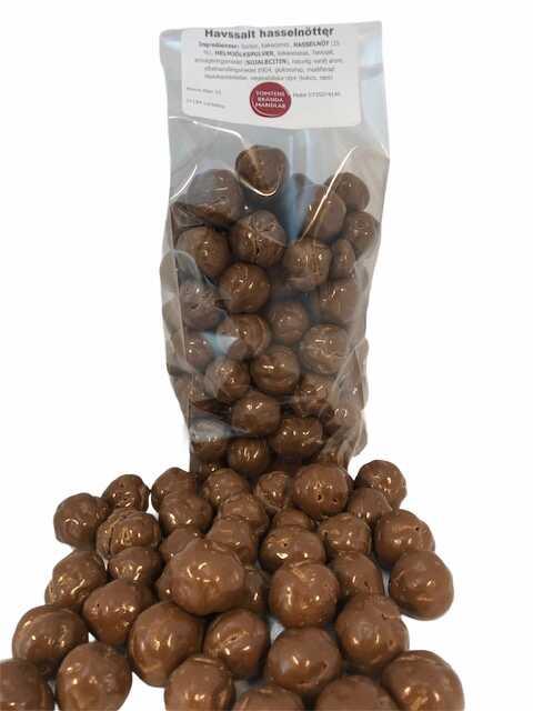 Havssalt choklad Hasselnötter