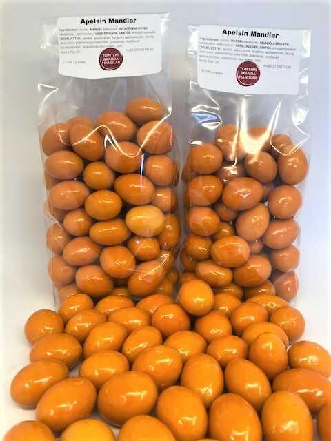 choklad mandel apelsin