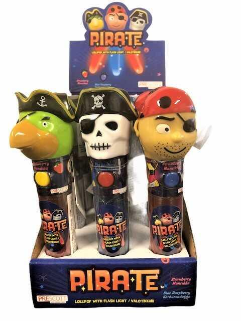 Lysande pirat klubba.