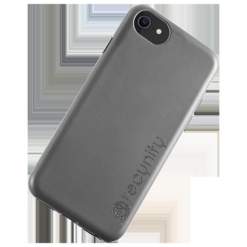 iPhone 7 - Miljövänliga mobilskal grått