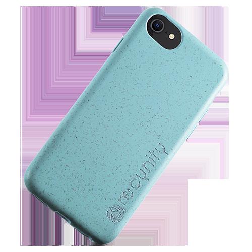 iPhone 8 - Miljövänliga mobilskal blått