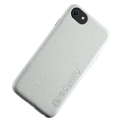 iPhone 8 - Miljövänliga mobilskal grått
