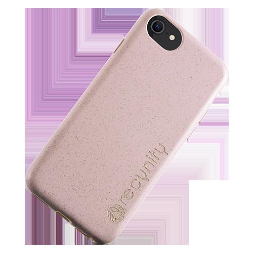 iPhone 8 - Miljövänliga mobilskal rosa