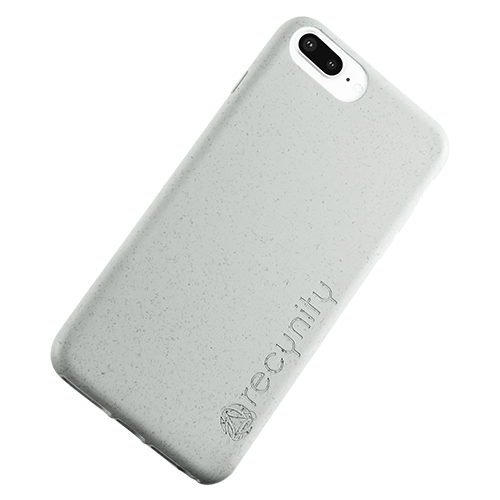 iPhone 7 Plus - Miljövänliga mobilskal grått