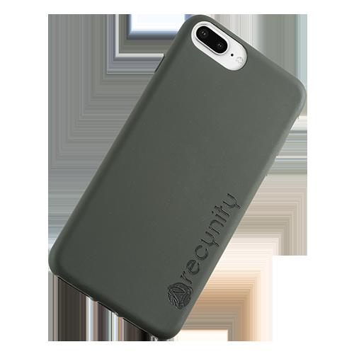 iPhone 8 Plus - Miljövänliga mobilskal grönt