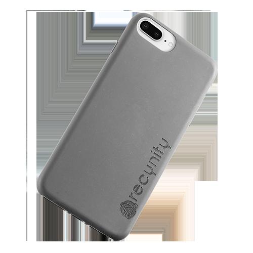 iPhone 8 Plus - Miljövänliga mobilskal grått