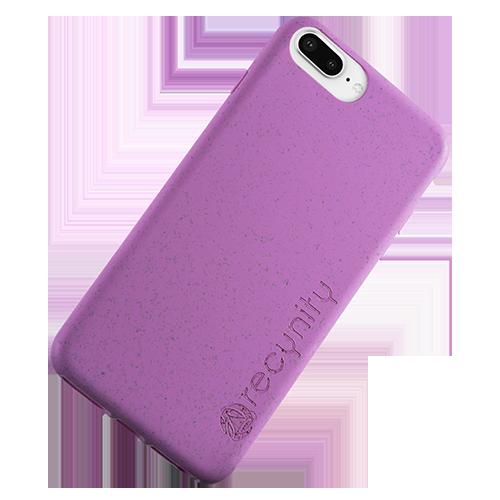 iPhone 8 Plus - Miljövänliga mobilskal lila