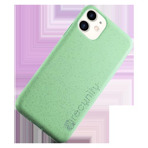 iPhone XR - Miljövänliga mobilskal grönt