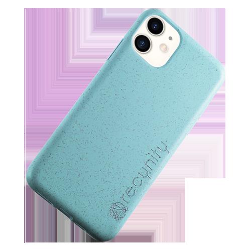 iPhone XR - Miljövänliga mobilskal blått