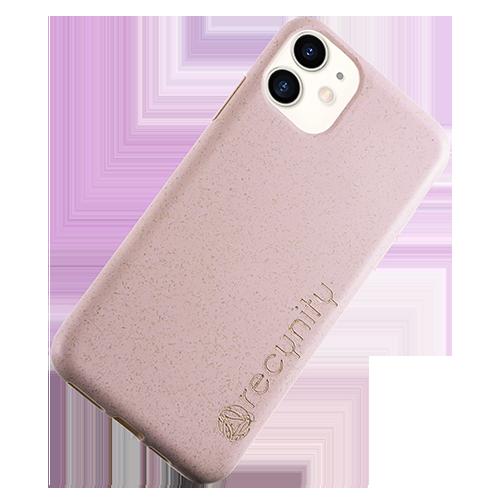 iPhone XR - Miljövänliga mobilskal rosa