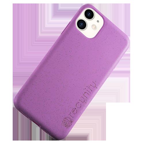 iPhone XR - Miljövänliga mobilskal lila