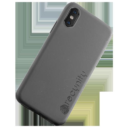 iPhone X  - Miljövänliga mobilskal grått