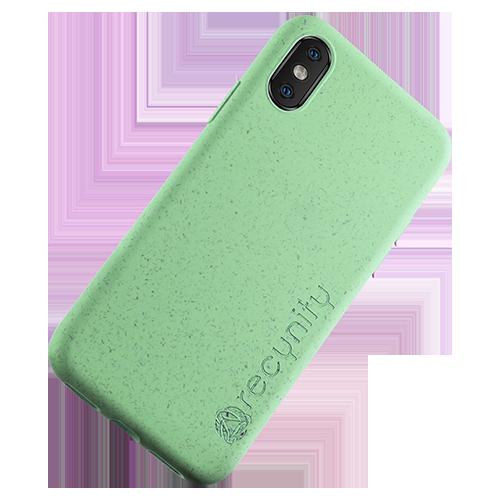 iPhone XS  - Miljövänliga mobilskal grönt