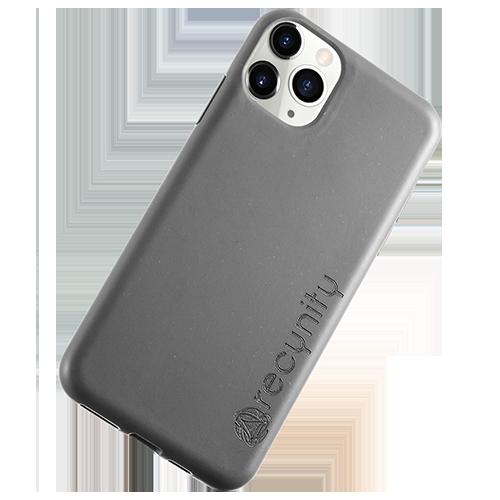 iPhone 11 Pro - Miljövänliga mobilskal grått