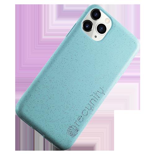 iPhone 11 Pro - Miljövänliga mobilskal blått