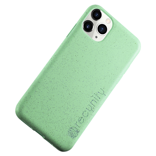 iPhone 11 Pro max - Miljövänliga mobilskal grönt