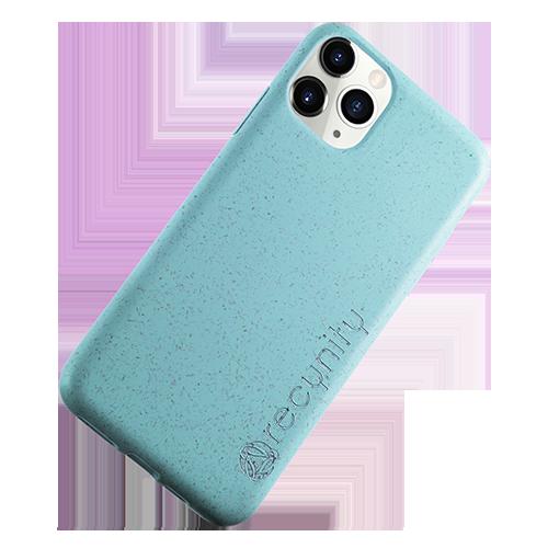 iPhone XS Max  - Miljövänliga mobilskal blått