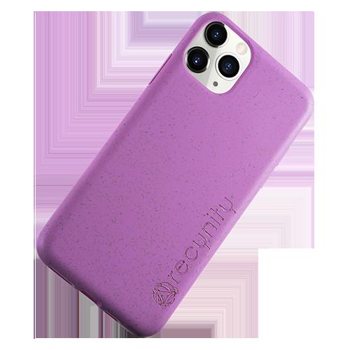 iPhone XS Max  - Miljövänliga mobilskal lila