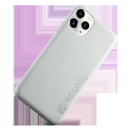 iPhone XS Max  - Miljövänliga mobilskal grått