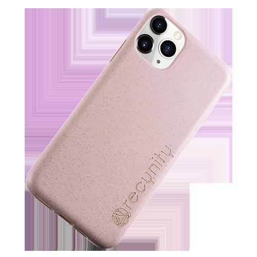 iPhone XS Max  - Miljövänliga mobilskal rosa