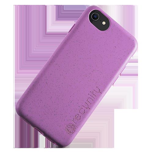 iPhone 7 - Miljövänliga mobilskal lila