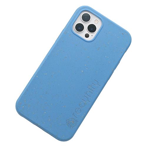 iPhone 12 Pro max - Miljövänliga mobilskal blått