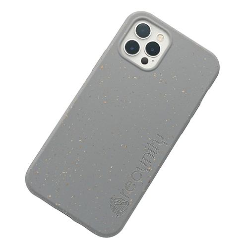 iPhone 12 Pro - Miljövänliga mobilskal grått