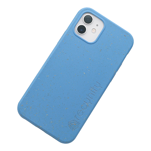 iPhone 12 - Miljövänliga mobilskal blått