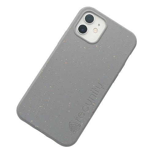 iPhone 12 mini - Miljövänliga mobilskal grått