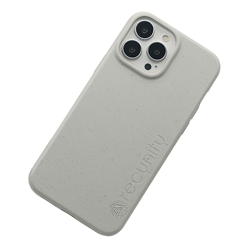 iPhone 13 Pro max miljövänligt mobilskal Grått