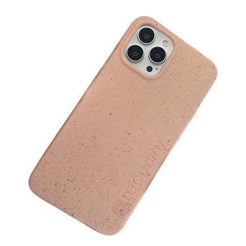 iPhone 13 Pro max miljövänligt mobilskal rosa