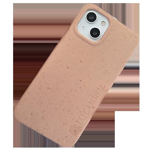 iPhone 13 mini - Miljövänliga mobilskal rosa