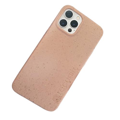 iPhone 12 Pro - Miljövänliga mobilskal rosa