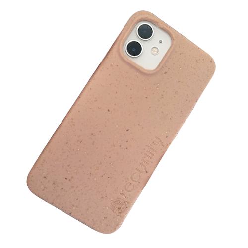 iPhone 12 - Miljövänliga mobilskal rosa