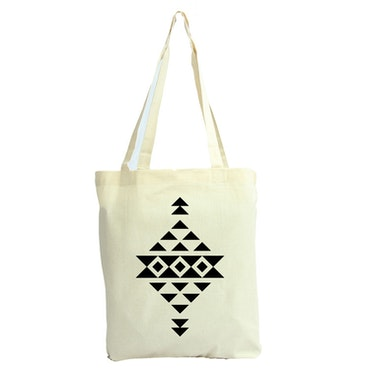 Tygkasse Aztec mönster 1