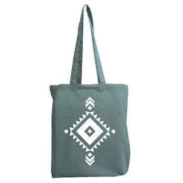 Tygkasse Aztec mönster 6